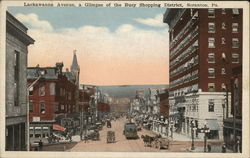 Lackawanna Ave., A Glimpse of the Busy Shopping District