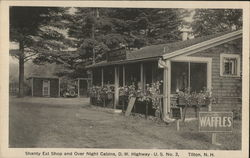 Shanty Eat Shop and Over Night Cabins, D.W. Highway, U.S. No. 3