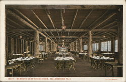 Mammoth Camp Dining Room