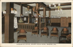 Interior of Office, Golden Eagle Hotel