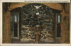 Main Entrance to Pahaska Tepee