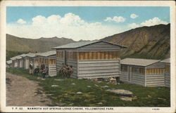 Mammoth Hot Springs Lodge Cabins
