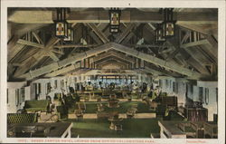 Grand Canyon Hotel Lounge From Office - Yellowstone Park