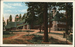 Lodge Center Postcard