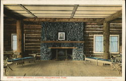 Camp Roosevelt Lounge, Yellowstone National Park