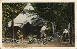 Camp Life, Allegany State Park