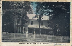 Residence W.W. Tuck, 7th St.