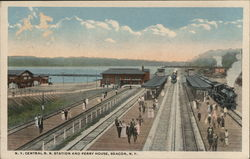 NY Central R.R. Station and Ferry House