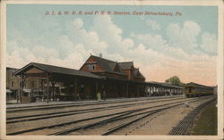 D.L. & W.R.R. and P.R.R. Station