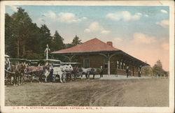 U. D. R. R. Station