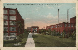Kodak Park, Entrance to Works of Eastman Kodak Co.