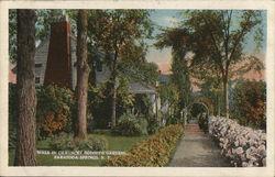 Walk in Chauncey Olcott's Garden