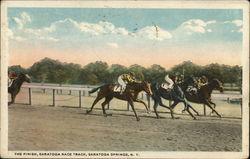 The Finish Line, Saratoga Race Track