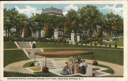 Congress Spring, Sunken Garden, City Park