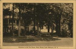 Entrance to the Tea Room, Dean House