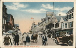 Circuit Ave., near Post Office Postcard