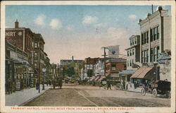 Tremont Avenue, looking West from 3rd Avenue
