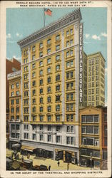 Herald Square Hotel, 114 to 120 West 34th St., Near Broadway