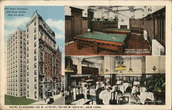 Views of Hotel Flanders, 135 W 47th St. to 136 W 48th St.