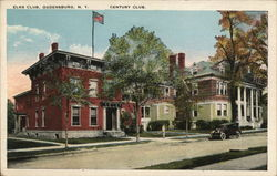 Elks Club, Century Club Postcard