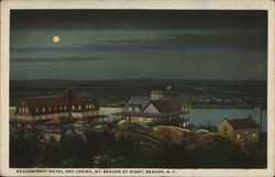 Beaconcrest Hotel and Casino, Mt. Beacon By Night