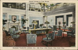 Grand Lounge in Club House, National Vaudeville Artist Inc.