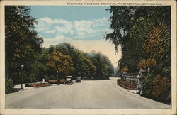Reviewing Stand and Driveway, Prospect Park