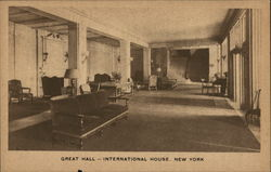 Great Hall, International House