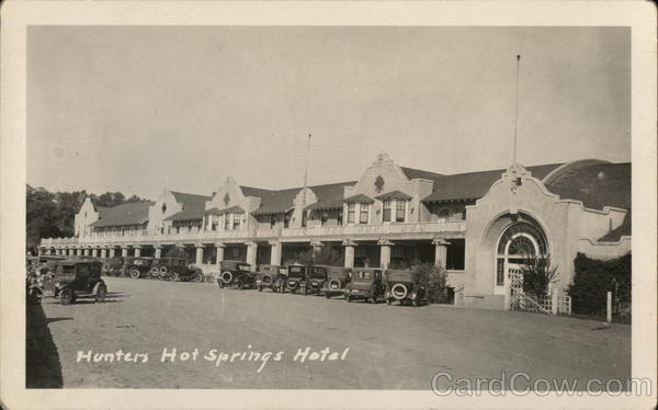 Hunters Hot Springs Hotel Montana