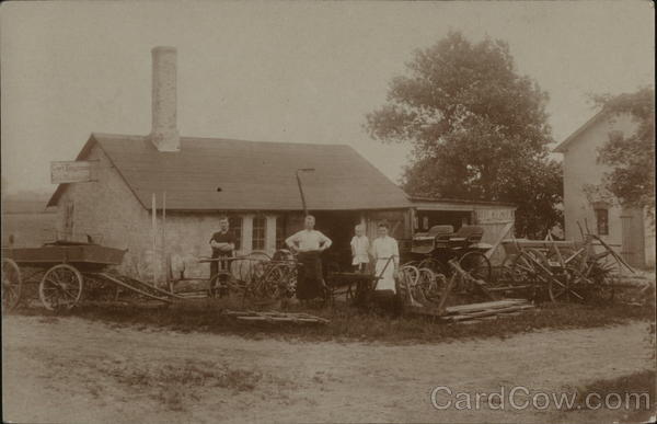 1908 Carl Boysen, Carriage Makers, Repair Business & Company Photos