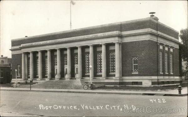Post Office Valley City North Dakota