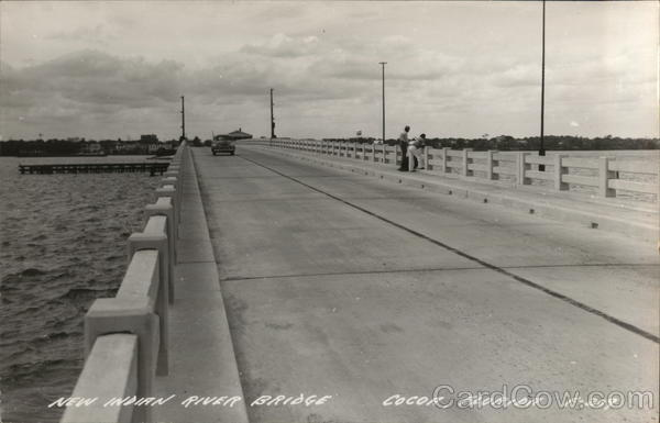 New Indian River Bridge Cocoa Florida