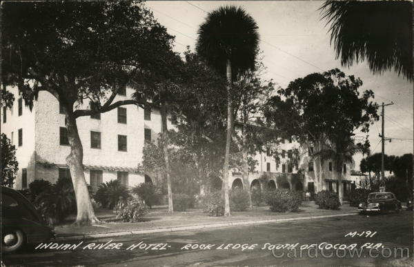 Indian River Hotel South of Cocoa, Florida Rockledge
