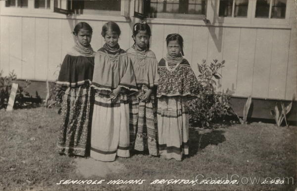 Seminole Indians Brighton Florida