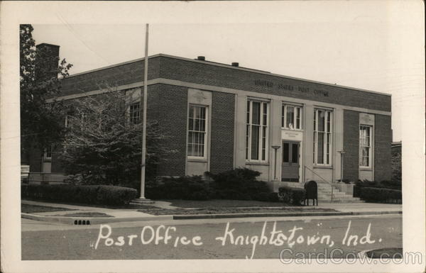 Post Office Knightstown Indiana