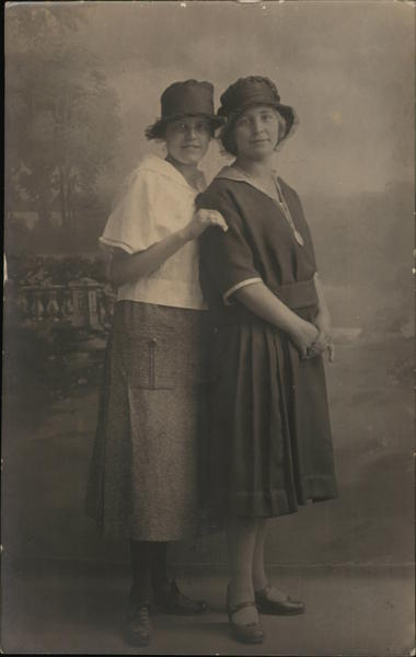Portrait of Two Women Reutlingen Germany