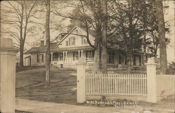 W.M Birdsal's Residence
