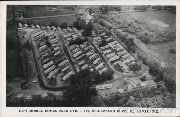 City Mobile Homes Park Ltd., 150, St. Elzeard Blvd. East Laval Quebec Canada