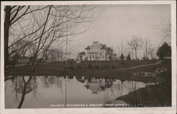 Bailey's Residence and Grounds Mount Vernon New York