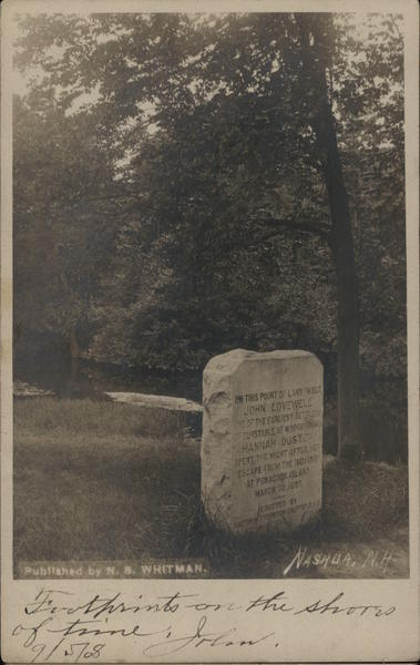 John Lovewell - Hannah Duston Monument Nashua New Hampshire