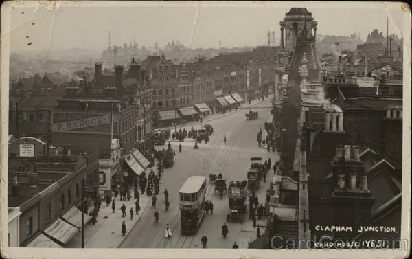Clapham Junction Battersea England