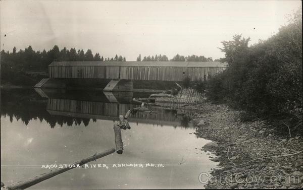 Arodstook River Ashland Maine
