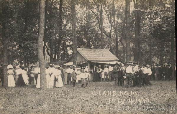 Island No. 10, Julyh 4, 1910 - County Fair? Columbia Missouri