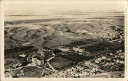 Birds Eye View of State Normal School Postcard