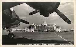 View of Seattle-Tacoma International Airport From Runway