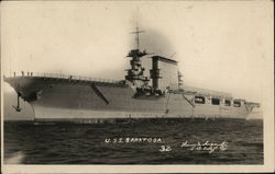 Aircraft Carrier USS Saratoga CV-3