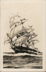 Old Ironsides - US Frigate Constitution, April 11, 1933