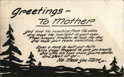 Greetings to Mother