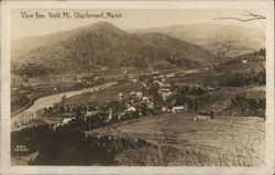 View From Bald Mountain Postcard