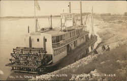 Snagboat Mandan US Engineers Riverboat
